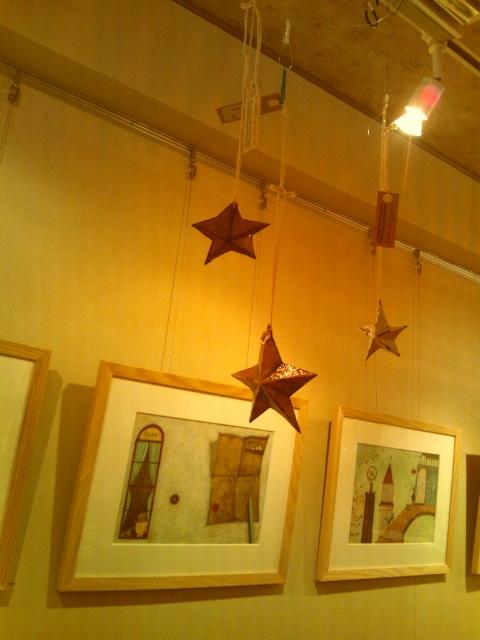 金と銀の星_e0256951_22473287.jpg