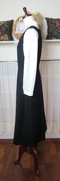 ジャンパースカート『黒・スクエアN』_f0182167_14535375.jpg