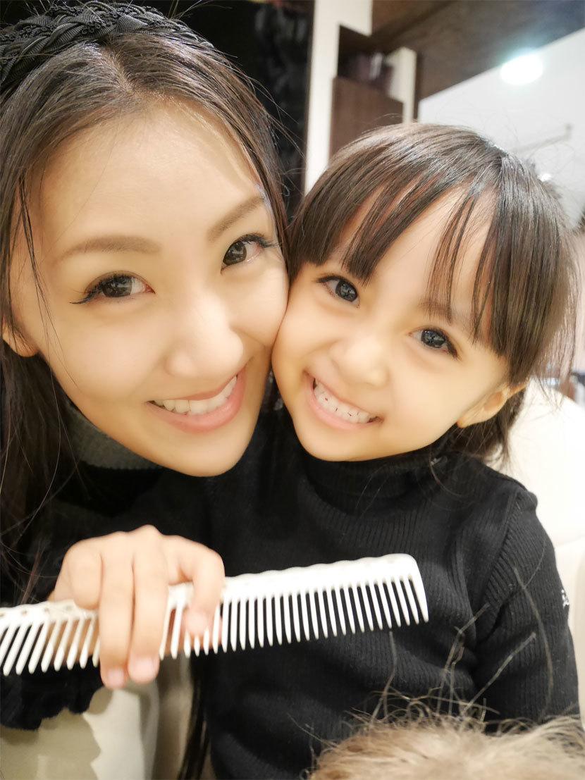 パパの美容院に、メリーchanと同行♪_d0224894_07451465.jpg