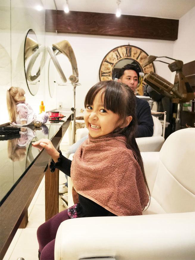 パパの美容院に、メリーchanと同行♪_d0224894_08560643.jpg