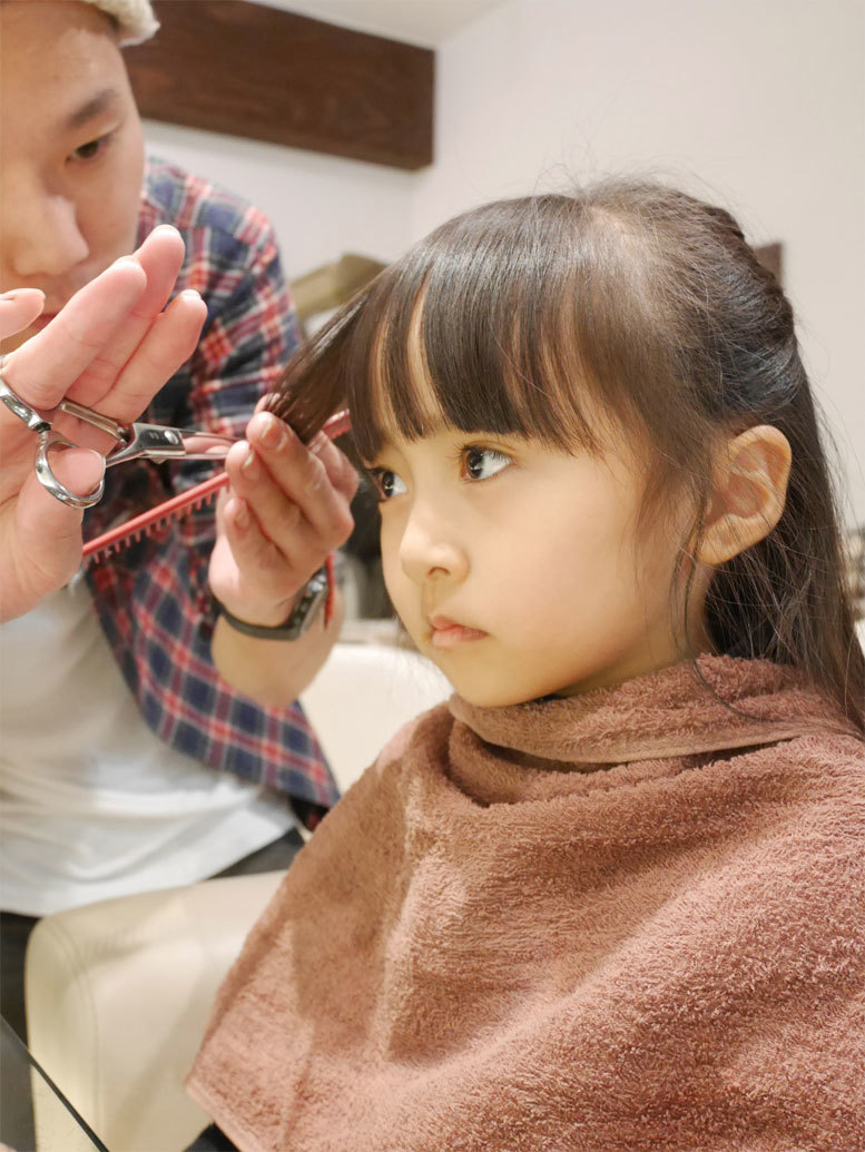 パパの美容院に、メリーchanと同行♪_d0224894_08560854.jpg