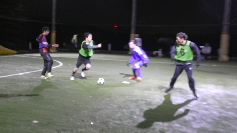 UNO 11/29(火) at UNOフットボールファーム_a0059812_17273916.jpg