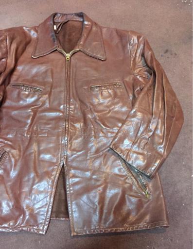 アメリカ仕入れ情報#8  40s~unknown leather JKT!_c0144020_12271941.jpg