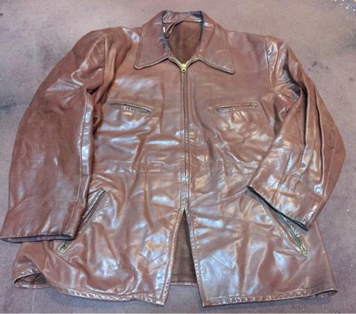 アメリカ仕入れ情報#8  40s~unknown leather JKT!_c0144020_12272195.jpg