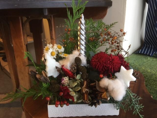 クリスマスとお正月の花_e0245124_218319.jpg