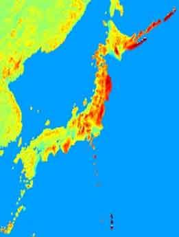 『地球の重力を計測したマップ』/ 日本は以外にも・・・ _b0003330_23565642.jpg