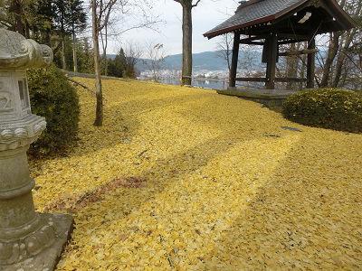 諏訪湖七福神めぐり(ハーフウォーク)_f0019247_2244192.jpg
