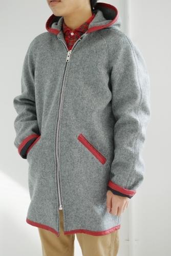 スクーカム別注カデットコート&パッチワークネルシャツ_e0247148_21005706.jpg