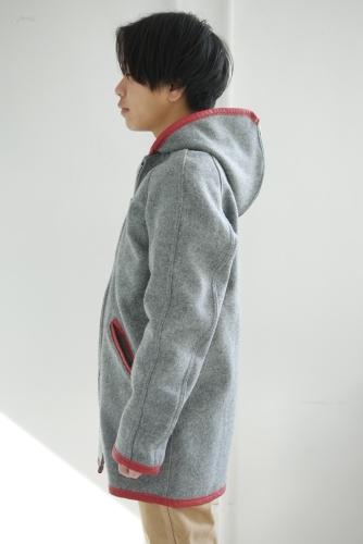 スクーカム別注カデットコート&パッチワークネルシャツ_e0247148_21021272.jpg