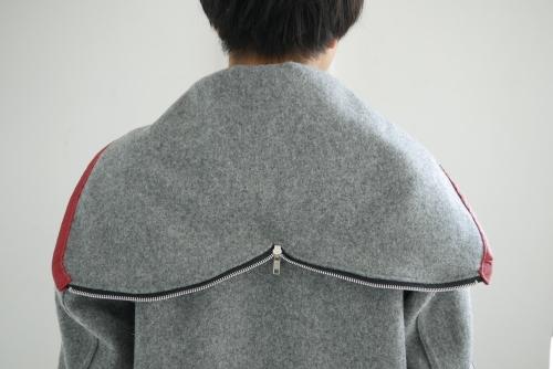 スクーカム別注カデットコート&パッチワークネルシャツ_e0247148_21023712.jpg