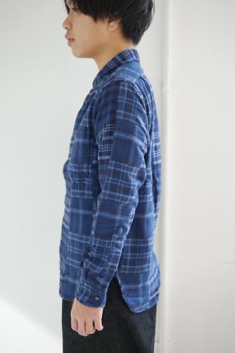 スクーカム別注カデットコート&パッチワークネルシャツ_e0247148_21035681.jpg