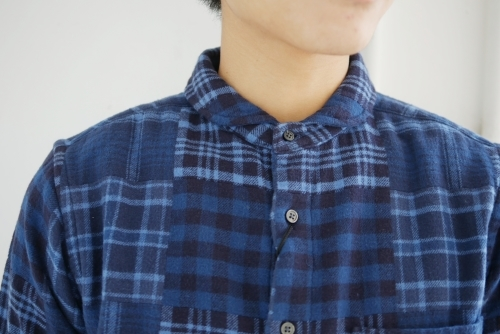 スクーカム別注カデットコート&パッチワークネルシャツ_e0247148_21050428.jpg