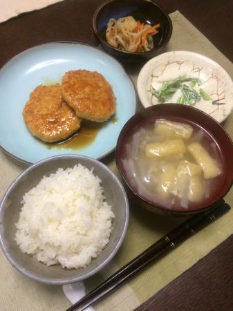 豆腐ハンバーグ_d0235108_23012369.jpg