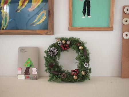 クリスマススワッグ作り_a0335560_17163830.jpg
