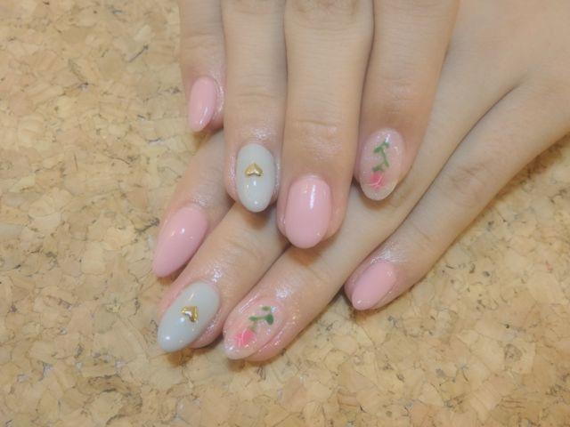 Pink Nail_a0239065_14320869.jpg