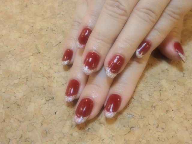 Burgundy Nail_a0239065_14372298.jpg