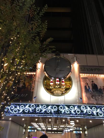 クリスマス・有楽町マリオン_d0339676_00334636.jpg