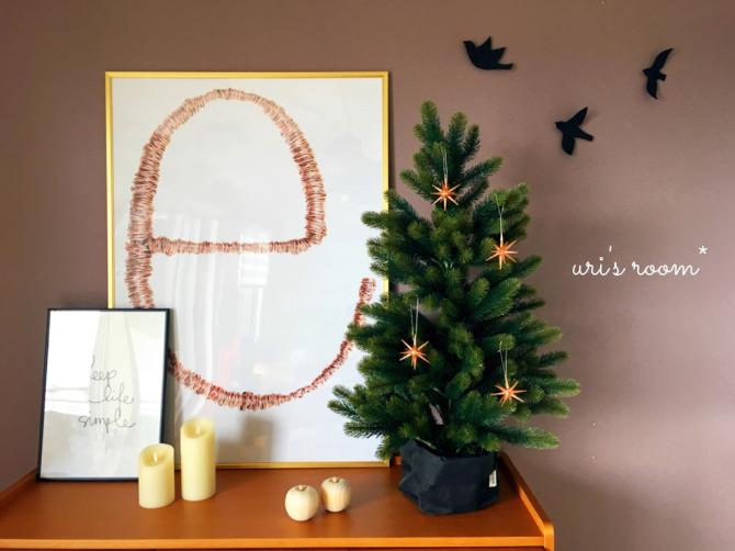 わが家にもやっとクリスマスツリー。そして明日の夜からスーパーセールヽ(´▽`)/_a0341288_18182534.jpg