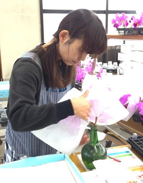 11/2 ガンの撮影_カトレアの山野井洋蘭 / Gan\'s shooting at Yamanoi Orchid Farm_a0216706_171326.jpg