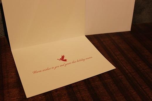 ハワイから届いたクリスマスカード & SLOW ITEM_f0191324_08314651.jpg