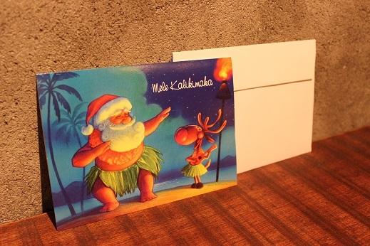 ハワイから届いたクリスマスカード & SLOW ITEM_f0191324_08315331.jpg