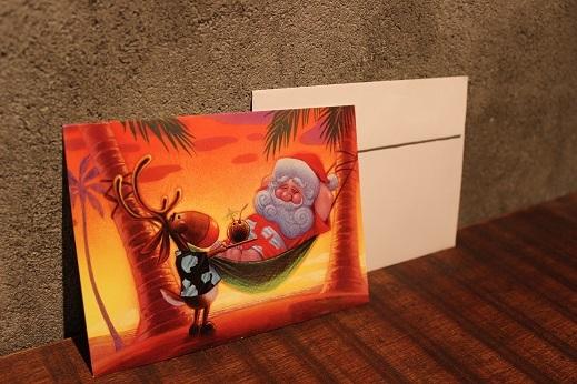 ハワイから届いたクリスマスカード & SLOW ITEM_f0191324_08320882.jpg