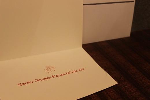 ハワイから届いたクリスマスカード & SLOW ITEM_f0191324_08321468.jpg