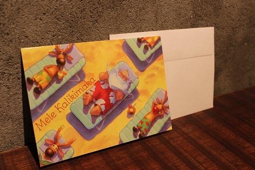 ハワイから届いたクリスマスカード & SLOW ITEM_f0191324_08322158.jpg