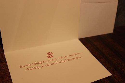 ハワイから届いたクリスマスカード & SLOW ITEM_f0191324_08322631.jpg