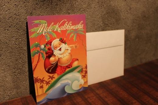 ハワイから届いたクリスマスカード & SLOW ITEM_f0191324_08324544.jpg