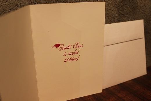 ハワイから届いたクリスマスカード & SLOW ITEM_f0191324_08325088.jpg