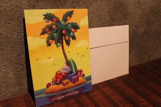 ハワイから届いたクリスマスカード & SLOW ITEM_f0191324_08325842.jpg