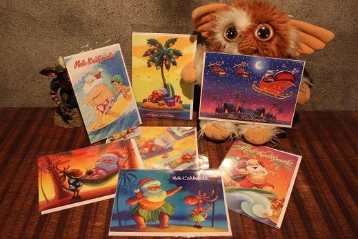 ハワイから届いたクリスマスカード & SLOW ITEM_f0191324_08332418.jpg