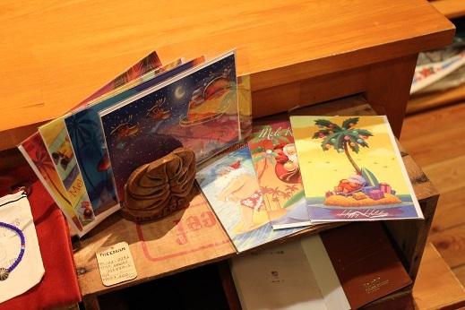 ハワイから届いたクリスマスカード & SLOW ITEM_f0191324_08333269.jpg