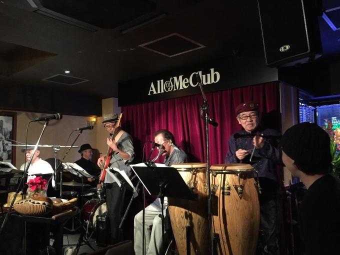 ペドロ梅村さんの笑顔 #東京 #六本木 #allofmeclub #ペドロ梅村 #キューバ音楽 #コンガ (1月詳細追記しました。)_a0103940_22420378.jpg