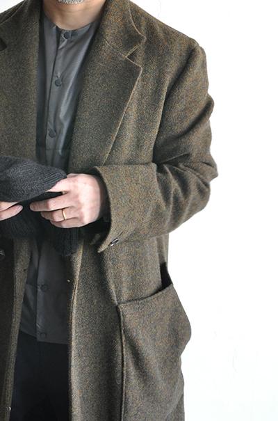 RICEMAN  Chesterfield Coat (Green Mix)_d0120442_13453141.jpg
