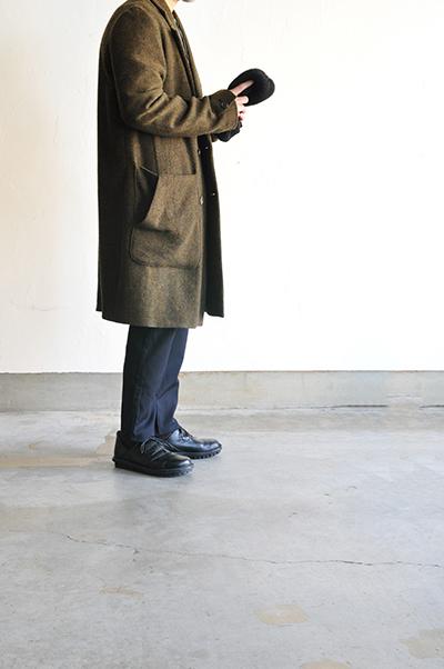 RICEMAN  Chesterfield Coat (Green Mix)_d0120442_13453376.jpg
