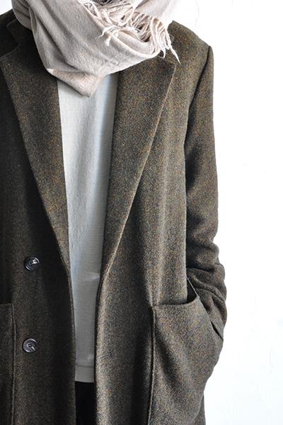 RICEMAN  Chesterfield Coat (Green Mix)_d0120442_13563769.jpg