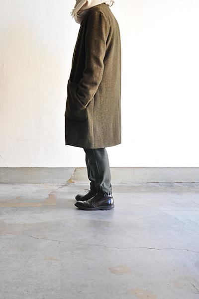 RICEMAN  Chesterfield Coat (Green Mix)_d0120442_13563831.jpg