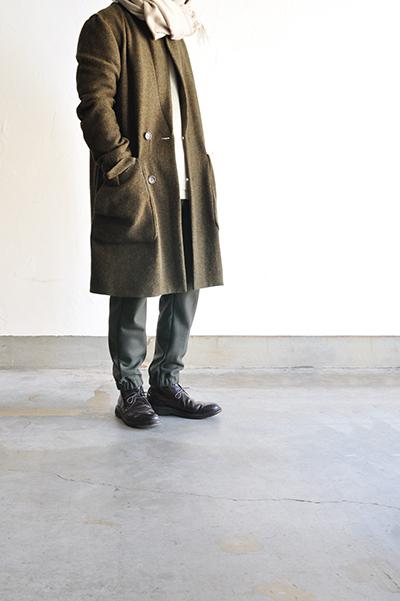 RICEMAN  Chesterfield Coat (Green Mix)_d0120442_13564092.jpg
