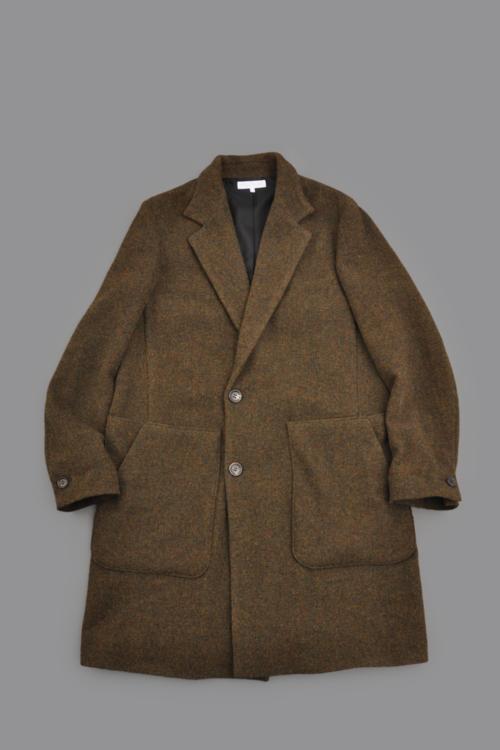 RICEMAN  Chesterfield Coat (Green Mix)_d0120442_14482622.png
