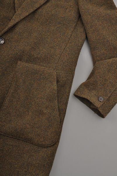RICEMAN  Chesterfield Coat (Green Mix)_d0120442_14483861.jpg