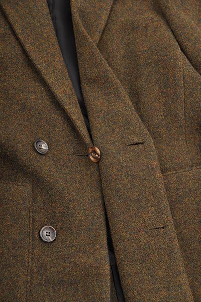 RICEMAN  Chesterfield Coat (Green Mix)_d0120442_1449494.jpg