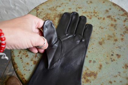 Italian army officer leather glove dead stock _f0226051_13243167.jpg