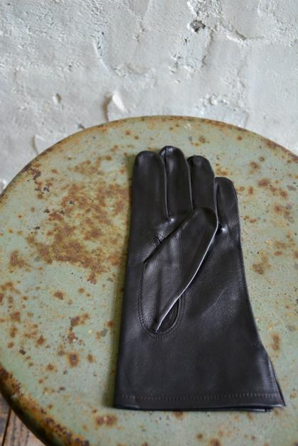 Italian army officer leather glove dead stock _f0226051_1324530.jpg