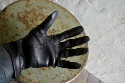 Italian army officer leather glove dead stock _f0226051_1326303.jpg