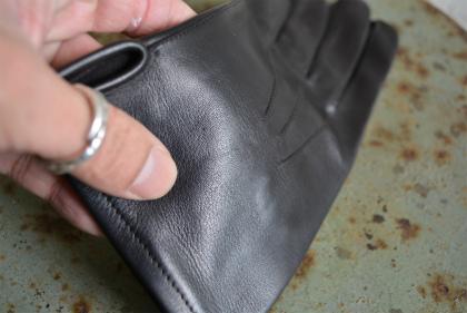 Italian army officer leather glove dead stock _f0226051_13284619.jpg