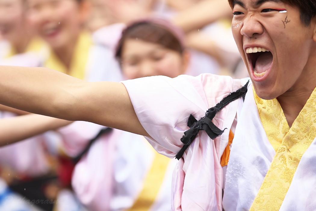 名古屋大学 快踊乱舞 @ 第12回四日市よさこい祭り~やったろ舞~_c0187584_1114424.jpg