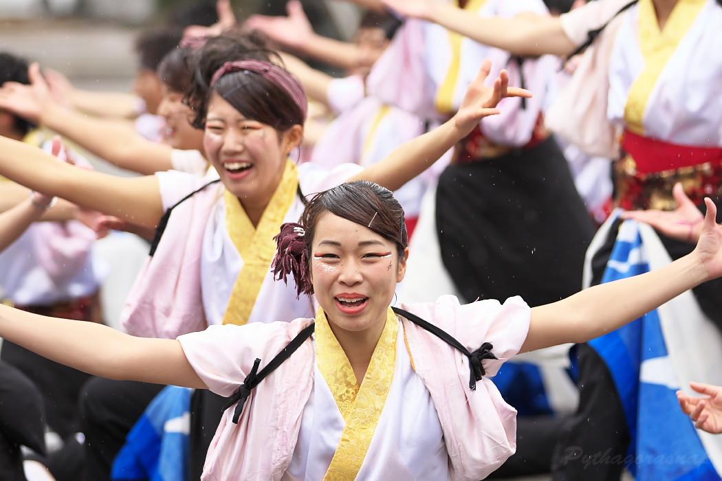 名古屋大学 快踊乱舞 @ 第12回四日市よさこい祭り~やったろ舞~_c0187584_11153041.jpg