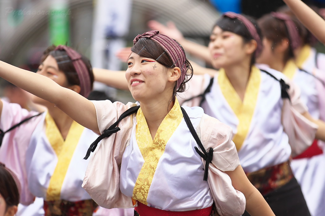 名古屋大学 快踊乱舞 @ 第12回四日市よさこい祭り~やったろ舞~_c0187584_11165736.jpg